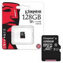 Карта памяти microSDXC 128Gb Kingston