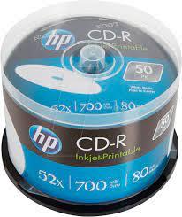 CD-R 700Mb 52x HP 50 • диск