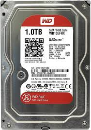 1Tb WD WD10EFRX Red • винчестер