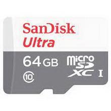 microSD 64Gb SanDisk • карта памяти
