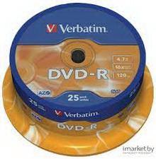 DVD R 4.7Gb 16x Verbatim 25 • диск