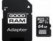 microSDXC 64Gb GoodRam M1AA • карта памяти