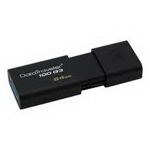 64Gb Kingston DataTraveler 100 G3 • флеш usb