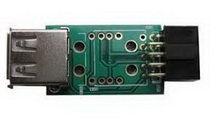 10pin - USB2.0 • переходник