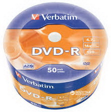 DVD-R 4.7Gb 16х Verbatim 50 • диск