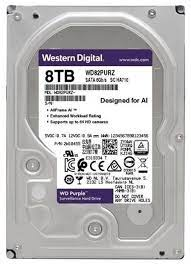 8Tb WD WD82PURZ Purple • винчестер