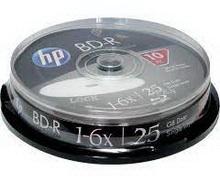 BD-R 25Gb 6x HP 10 • диск