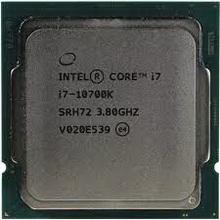 Intel Core i7-10700K • процессор