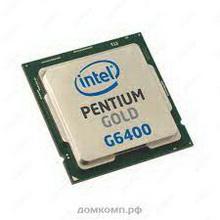 Intel Pentium G6400 Gold • процессор