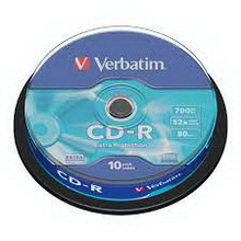CD-R 700Mb 52x Verbatim 10 • диск