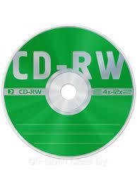 CD-RW 700Mb 12x Data Standard • диск
