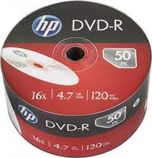 DVD-R 4.7Gb 16x HP 50 • диск