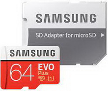 microSD 64Gb Samsung • карта памяти