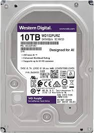 10Tb WD WD102PURZ Purple • винчестер