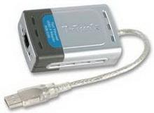 Разветвитель USB D-Link DUB-E100