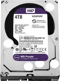4Tb WD WD40PURZ Purple • винчестер
