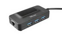 Trust Oila 3P USB3 • разветвитель usb