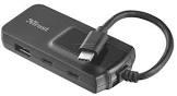 Разветвитель USB Trust Oila USB-C 4P 2X2