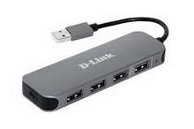 D-Link DUB-H4 • разветвитель usb