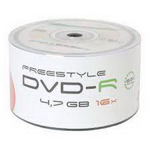 DVD-R 4.7Gb 16x Freestyle 50 • диск